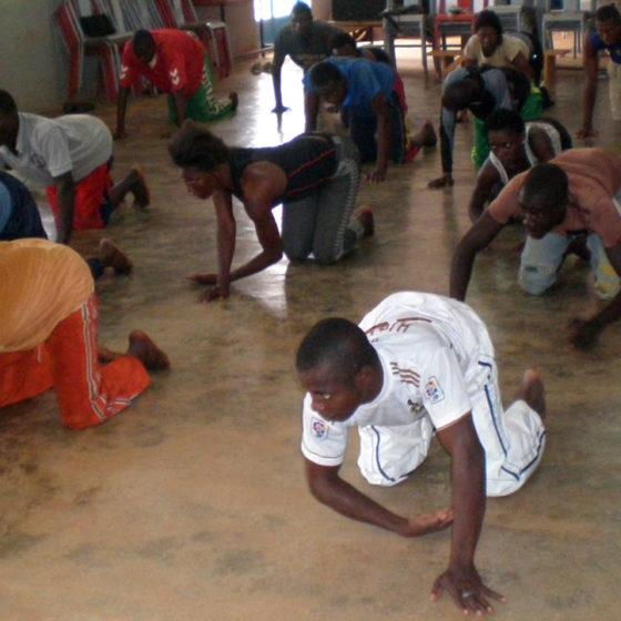 Désiré Sankara - Formation de jeunes comédiens au CITO
