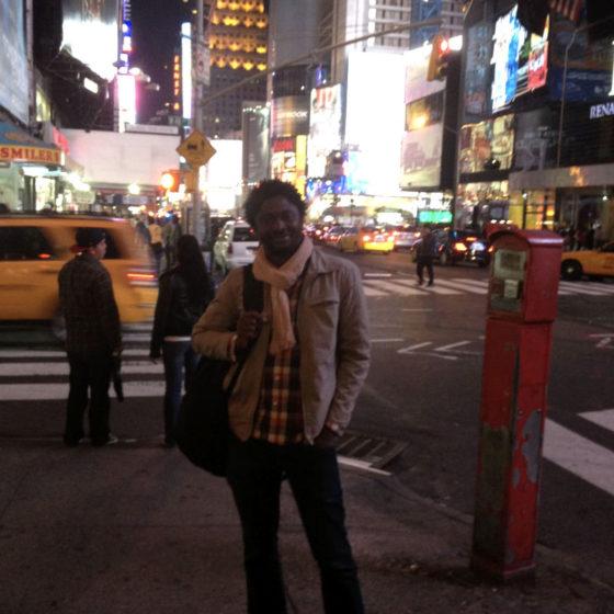 Désiré SANKARA in New-York city