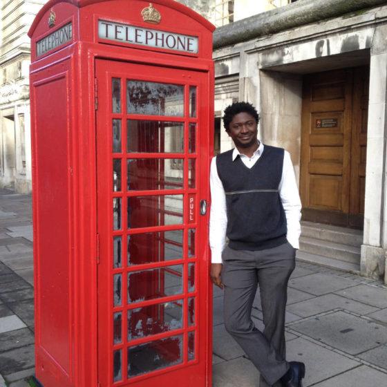 Désiré Sankara in London